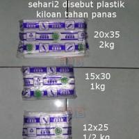 Plastik Kiloan 2 1 1/2 KG Anti / Tahan Panas