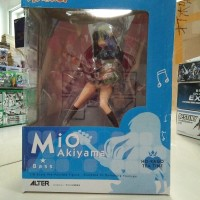 harga PVC Figure Anime K ON Mio Akiyama Regular Ver 1/8 Guitar NEW MIB KWS Tokopedia.com