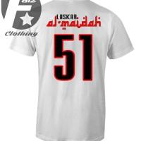 kaos distro lengan pendek design Laskar Al-maidah 51