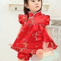CHEONGSAM BAYI ANAK BAJU IMLEK SINCIA CHINESE NEW YEAR DRESS WM107