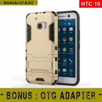 Jual HTC 10 / M10 - IRON MAN Hard Case Armor Stand Holder Casing Cover ori Murah