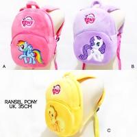 harga Tas Ransel Boneka Pony My Little Pony 35CM Tokopedia.com