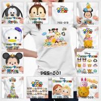 Kaos Baju Pakaian DEWASA Disney Tsum Distro Couple Family Pria Wanita