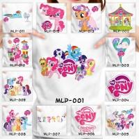 Kaos Baju Pakaian ANAK My Little Pony Couple Family Pria Wanita Distro