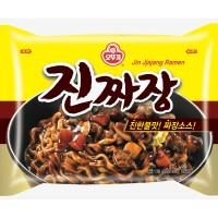 NEW!! Ottogi Jin Jjajang Ramen Mi Mie Instant Korea Jajangmyeon Import