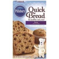 Pillsbury Quick Bread Date Bread Cake Mix Tepung Kue Instant Mix