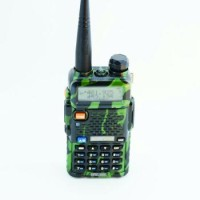 Walkie Handy Talky Ht Baofeng Pofung Dual Band Uhf Vhf Uv-5r -Loreng