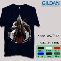 Kaos Gildan Softstyle - Game Online, Assassins Creed III