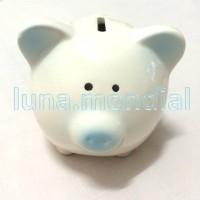 harga BIRU Piggy Bank Celengan Babi Keramik Porselen Piggie Shabby Cute BLUE Tokopedia.com