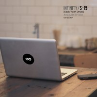 "Decal / Sticker Macbook Apple 10"" 13"" 15"" / Infinity /"