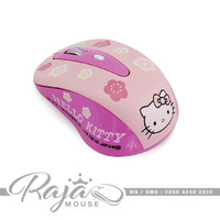 Mouse Wireless Hellokitty | Hello Kitty 1600 DPI Cute Gaming Mause