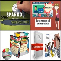 GARANSI SPARKOL VIDEOSCRIBE ! + VIDEO MAKER FX + EASY SKETCH PRO