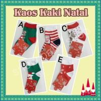 Jual Kaos Kaki Natal Bayi / Christmas Sock Murah