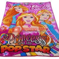 Karpet Selimut Rosanna Soft Panel - Barbie Popstar (Busa 2cm)