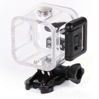 Underwater Waterproof Case IPX68 45m for GoPro Hero 4 Session - Black