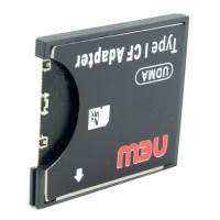 SDHC to Compact Flash CF Type I Card Reader Adapter - Hitam