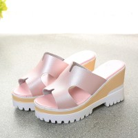 fashion Shoes Wanita Import Grosir Murah Korea sepatu 50488 wedges