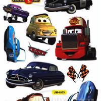 """Set Stiker Dekorasi Dinding Motif Mobil-Mobil Film Animasi """"Cars"""""""