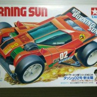 Mini 4WD Tamiya : Neo Burning Sun (1st Release - Japan)