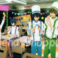 Poster Anime Free! Iwatobi Swimming Club Nanase Haruka Makoto