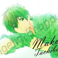 Poster Anime Free! Iwatobi Swimming Club Tachibana Makoto