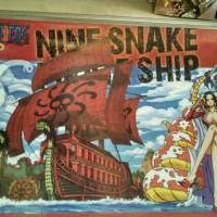 One piece Ship Mokit Nine Snake Ship BOOTLEG