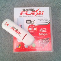 Modem Telkomsel Flash Bolt 42mbps Unlock Support Hotspot Wifi