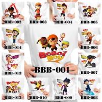 Kaos Anak / Baju Anak BoboiBoy - 13 Motif/Design -