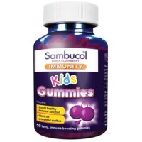 Sambucol Black Elderberry Immunity Kids Gummies 50's