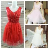 harga Baju Dress Pesta Mini Brukat Brokat Lace Dress Import Fashion Wanita Tokopedia.com