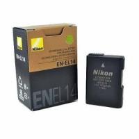 Nikon Battery EN-EL14 For D3100,d3200,d3300,d5200,d5100,d5300, d5500
