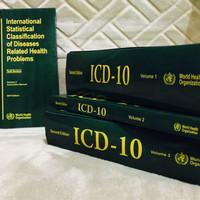 ICD-10 lengkap 1 set
