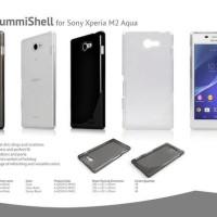 SALE!!! AHHA MOYA Gummishell Sony Xperia M2 Aqua Original