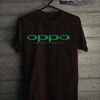 Kaos/T-shirt Gadget Oppo Smartphone Logo