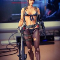 Play Arts Kai Quiet Metal Gear Solid V The Phantom Pain NEW MISB KWS