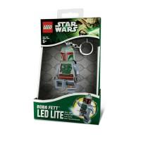LEGO KEYCHAIN BOBA FETT LED LITE