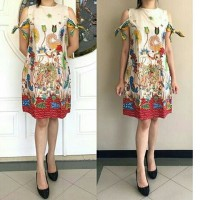 Dress Batik Solo, Dress Trikot Wayang