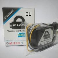Pengaman Motor IC Lock tipe 3L alarm motor anti maling kunci rahasia