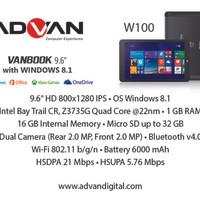 Advan Vanbook W100