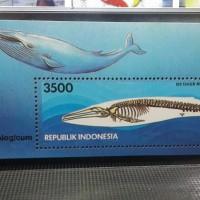 Souvenir Sheet Perangko IDN 100 Thn Museum Zoologicum 1994