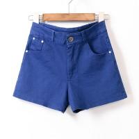 Celana pendek wanita cotton jeans hotpants  grosir import korea tebal