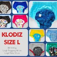 Jual [Isi 2] Klodiz Size L Training Pant/ Celana Dalam Latihan Pipis Anak Murah