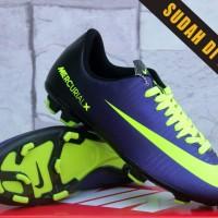 harga Sepatu Bola Nike Mercurial X Hitam Ungu Kw Super (Soccer-Foot Ball) Tokopedia.com