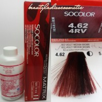 MATRIX SOCOLOR 4.62 RED VIOLET MEDIUM BROWN 90 ML LEVEL-4