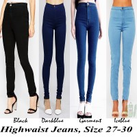 harga Chanel HW | High Waist One Button | Soft Jeans Washed | Celana Wanita Tokopedia.com