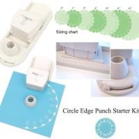 CIRCLE EDGE PUNCH/STARTER KIT by MARTHA STEWART