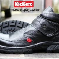 harga sepatu kulit asli Kickers safety ujung besi boot kerja tracking prepet Tokopedia.com