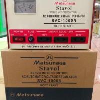 harga Stabilizer Matsunaga 1000watt 1000 Watt 1000w Stavol Svc 1000n Tokopedia.com