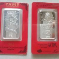harga Pamp Silver Dragon Bar 1oz 31.1gram Perak Batang Tokopedia.com