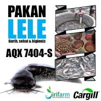 Jirifarm(09396) Pakan Lele Cargill AQX7404-S 1kg u/ benih lele s/d 3cm